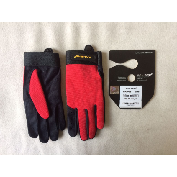 Kalibre Glove Ladies 992058660 Red