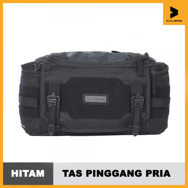 Kalibre Waist Bag tas pinggang Robust Two 5L Black 921309000