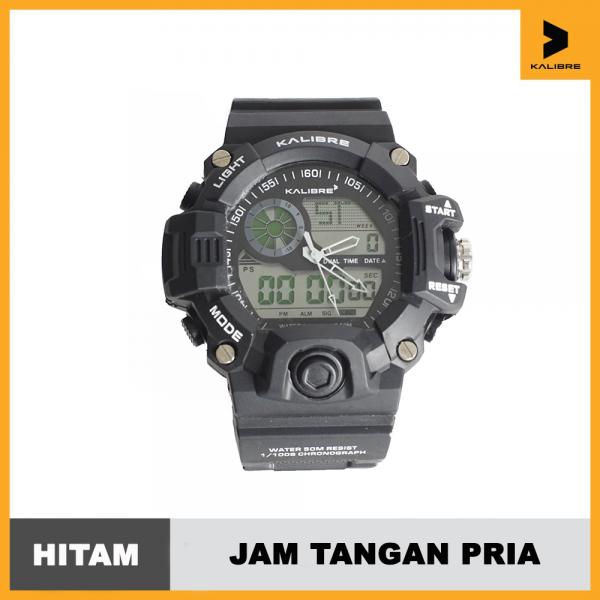 Jam Tangan Digital Analog Pria Kalibre Watch Elgyn 996222 000