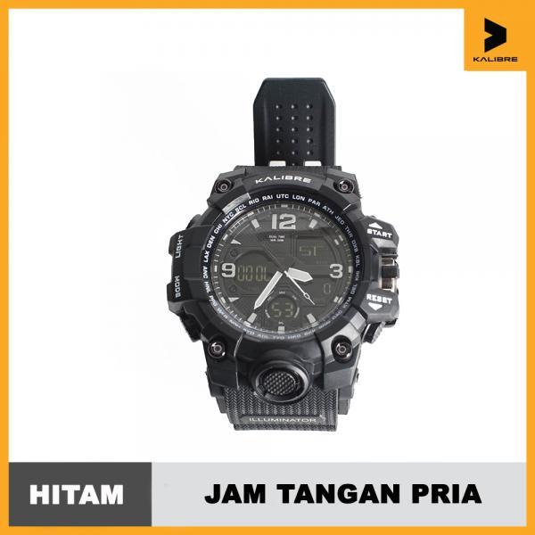 Kalibre Jam Tangan Analog Pria Outdoor Kalibre Watch Tero 996224000