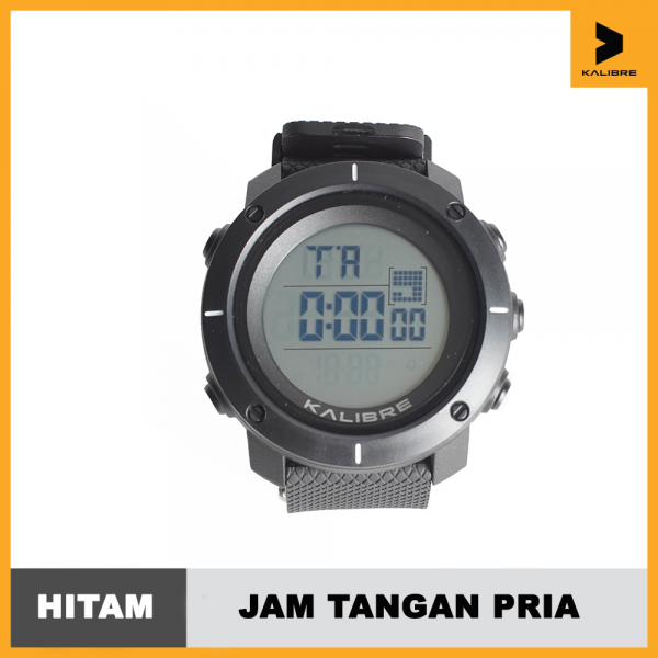 Jam Tangan Digital Pria Outdoor Kalibre Watch Porthan 996225000