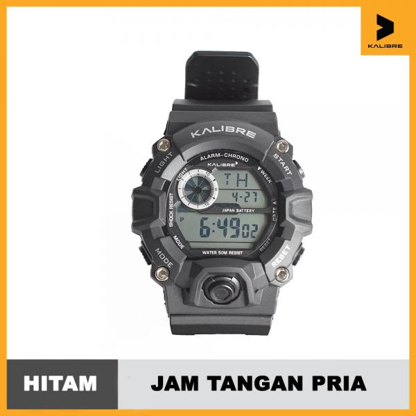 Jam Tangan Digital Outdoor Kalibre Watch Verbo 996228000 Hitam