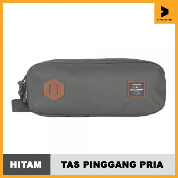 Tas Pinggang Pria Kalibre Waist Bag Racko 03 3L Black 921495000