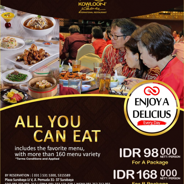ALL YOU CAN EAT PAKET A