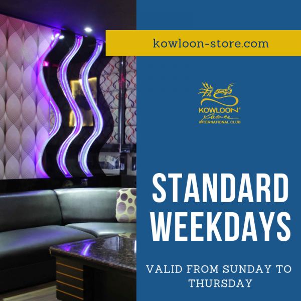 STANDARD WEEKDAYS