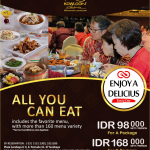 ALL YOU CAN EAT PAKET B