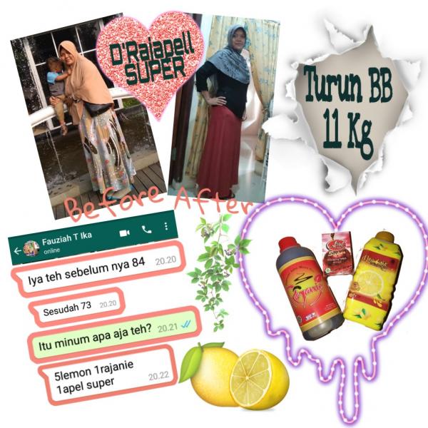 Paket Drajapell Super/ Dlemonie + Rajanie + Apell Pelangsing Super