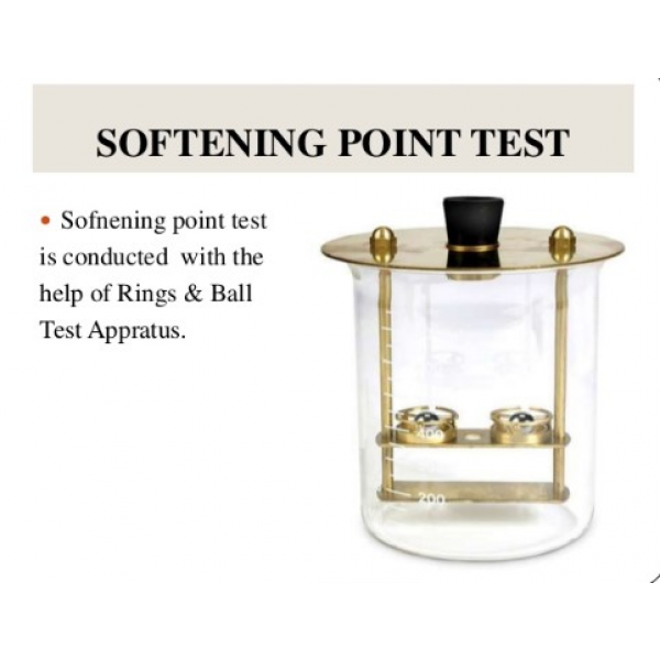 SOFTENING POINT TEST
