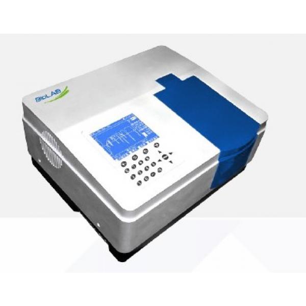 SPLIT BEAM UV VISIBLE SPECTROPHOTOMETER