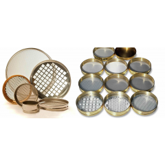 SIEVE ANALYSIS / STAINLESS STEEL OR BRASS ROUND SIEVE