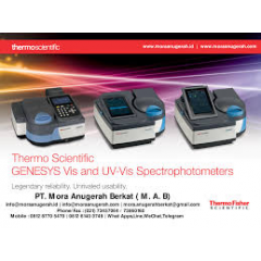 Genesys Family Spectrophotometer
