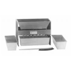 Sample Splitters Riffle Splitters (Fixed Chute)