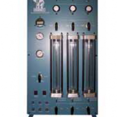 Triaxial / Permeability Control Panel