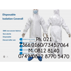 ALAT PELINDUNG  DIRI / APD (DISPOSABLE ISOLATION COVERALL)