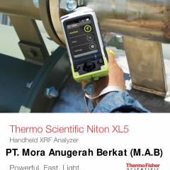 XRF ANALYZER NITON™ XL5 THERMO SCIENTIFIC