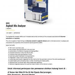 ASPHALT MIX ANALYZER AUTOMATIC CLOSED-LOOP SYSTEM