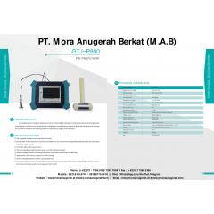 PILE INTEGRITY TESTER (GTJ P-800)