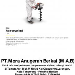 AUGER MACHINE TEST SET