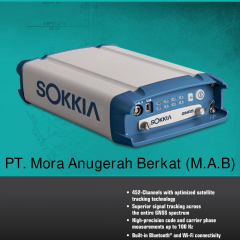 SOKKIA GNR5 GNSS Reference Receiver