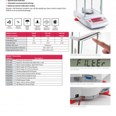 OHAUS Analytical Pioneer