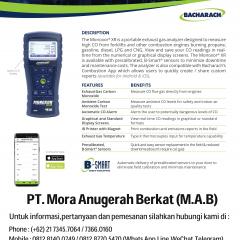 BACHARACH Monoxor XR CO Exhaust Analyzer