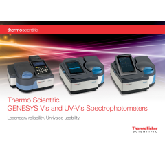 Thermo Scientific GENESYS™ 180 UV-Vis Spectrophotometers
