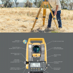 TOPCON - REFLECTORLESS TOTAL STATION