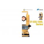 TOPCON ELECTRONICS DIGITAL THEODOLITE DT-200/200L SERIES