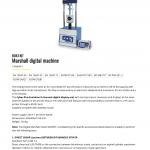 MARSHALL DIGITAL MACHINE