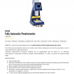 FULLY AUTOMATIC PENETROMETER