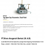 TAG CLOSED-CUP VISCOMETER. FLASH POINT
