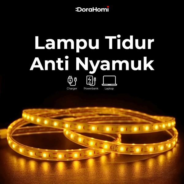 MILEE String Lights, Lampu Hias Tumblr LED USB Multifungsi Anti Nyamuk dan Serangga BERGARANSI!