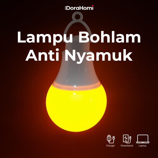 Lampu Tidur Anti Nyamuk USB Portable (Travel, Camping, Outdoor) MILEE USB LED BULB 3W, BERGARANSI!