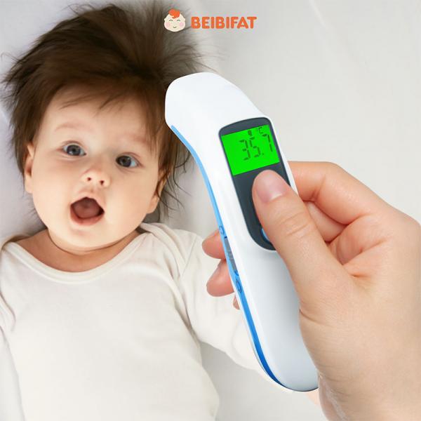 Thermometer termometergun Digital Infrared alat pengukur suhu Bayi Akurat
