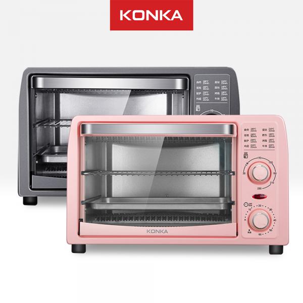 KONKA Oven Listrik pemanggang penghangat makanan daging kue bolu sosis bbq serbaguna Electric 13L
