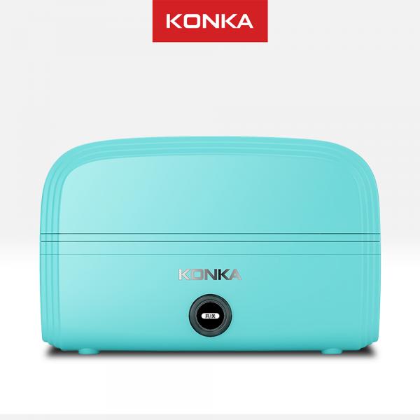 KONKA Lunch box electric, kotak makan/bekal elektrik serba guna, wadah stainless, fashionable