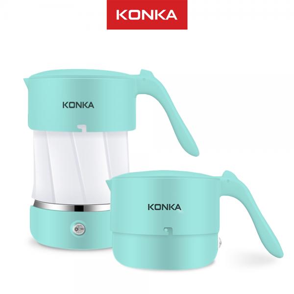 KONKA Teko Ketel listrik lipat portable pemanas air kopi 500 ml