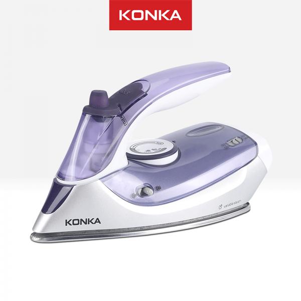 KONKA Iron Steamer Setrika Listrik Portable Multifungsi (Uap/Kering) Anti Lengket