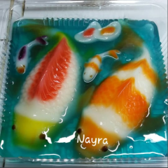 puding ikan cup
