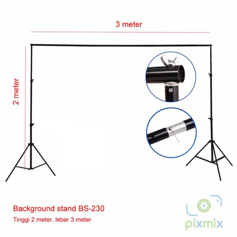 Background Stand 2 x 3M | Background Foto