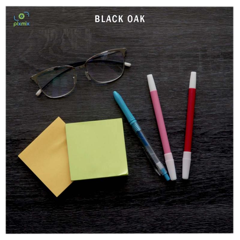 Texture Black Oak Bare 60 x 100 cm