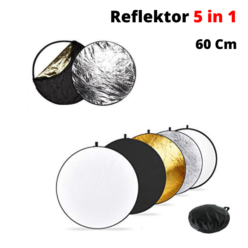 Reflektor Cahaya Studio Foto 5 in 1 Original