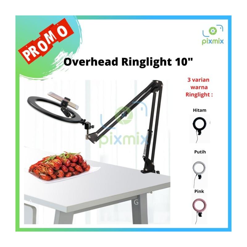 Overhead Bracket kamera HP Flat Lay with Ringlight 10