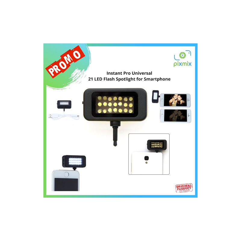 Instant Pro Universal 21 LED Flash camera Spotlight for Smartphone
