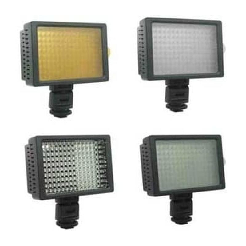 Video LED Taffware Lighting Kamera 160 LED + Stand 2M