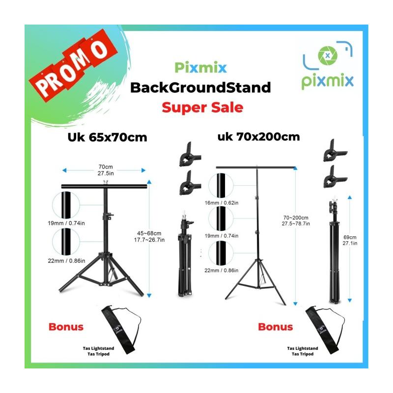 BACKGROUND STAND MODEL T | Stand 70x65 | Stand 70x200 | BONUS TAS - MK STAND 70x65