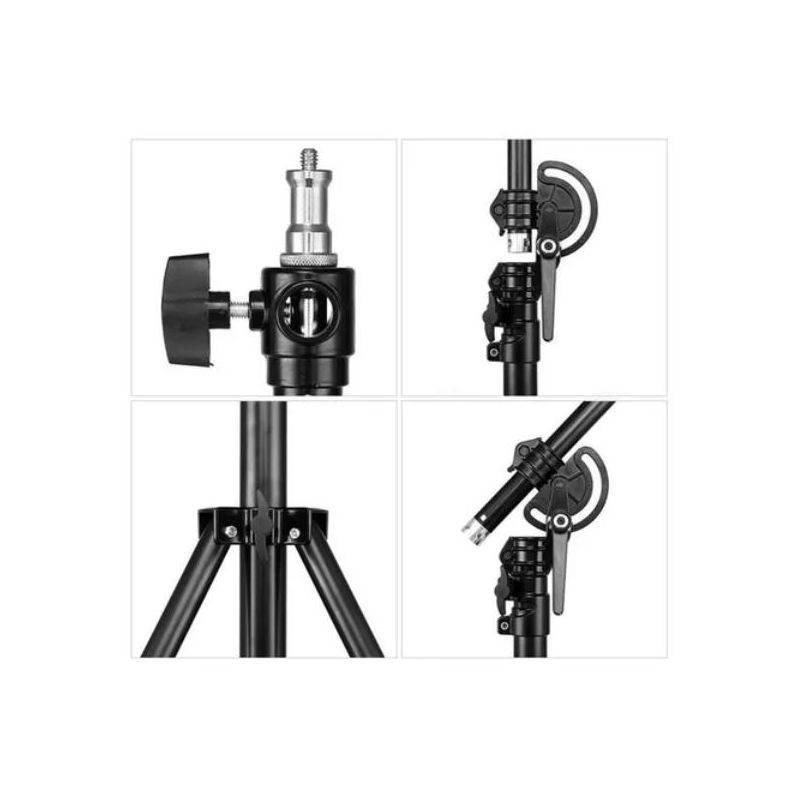 Power Boom Stand 2 in 1 | Light Stand paket dengan Boom Arm