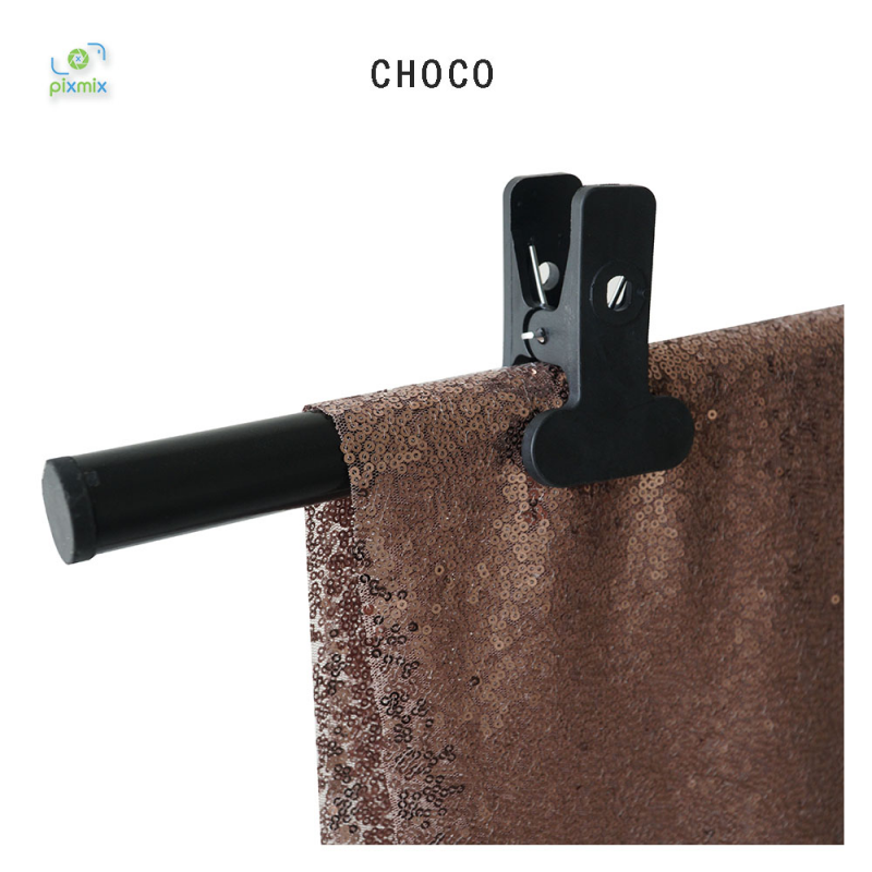Glitter Choco 100 x 150 cm