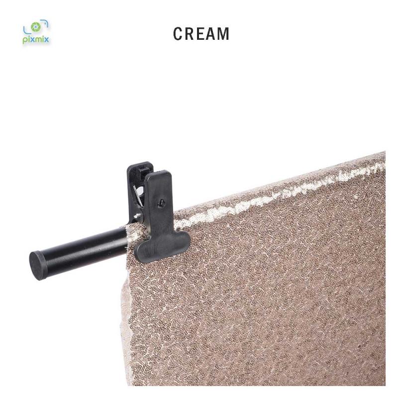 Glitter Cream 100 x 150 cm