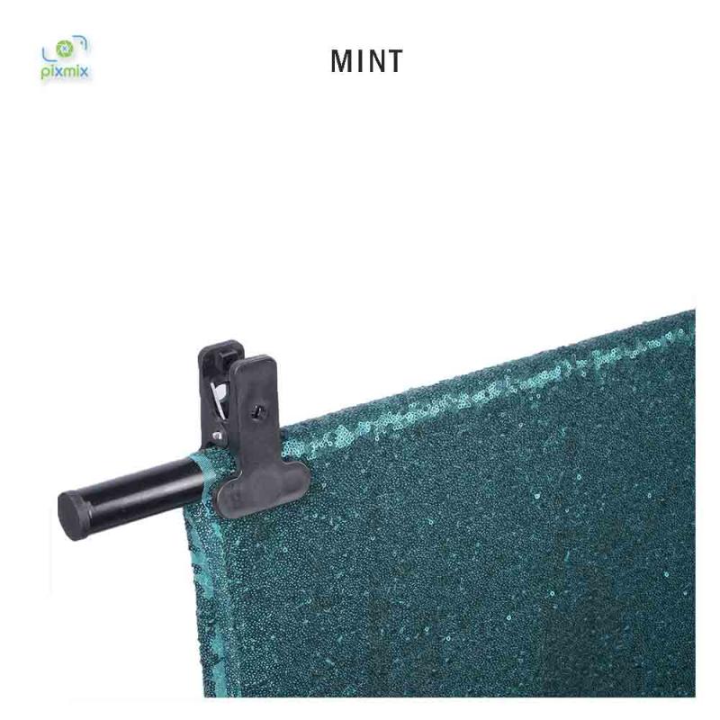Glitter Mint 300 x 150 cm
